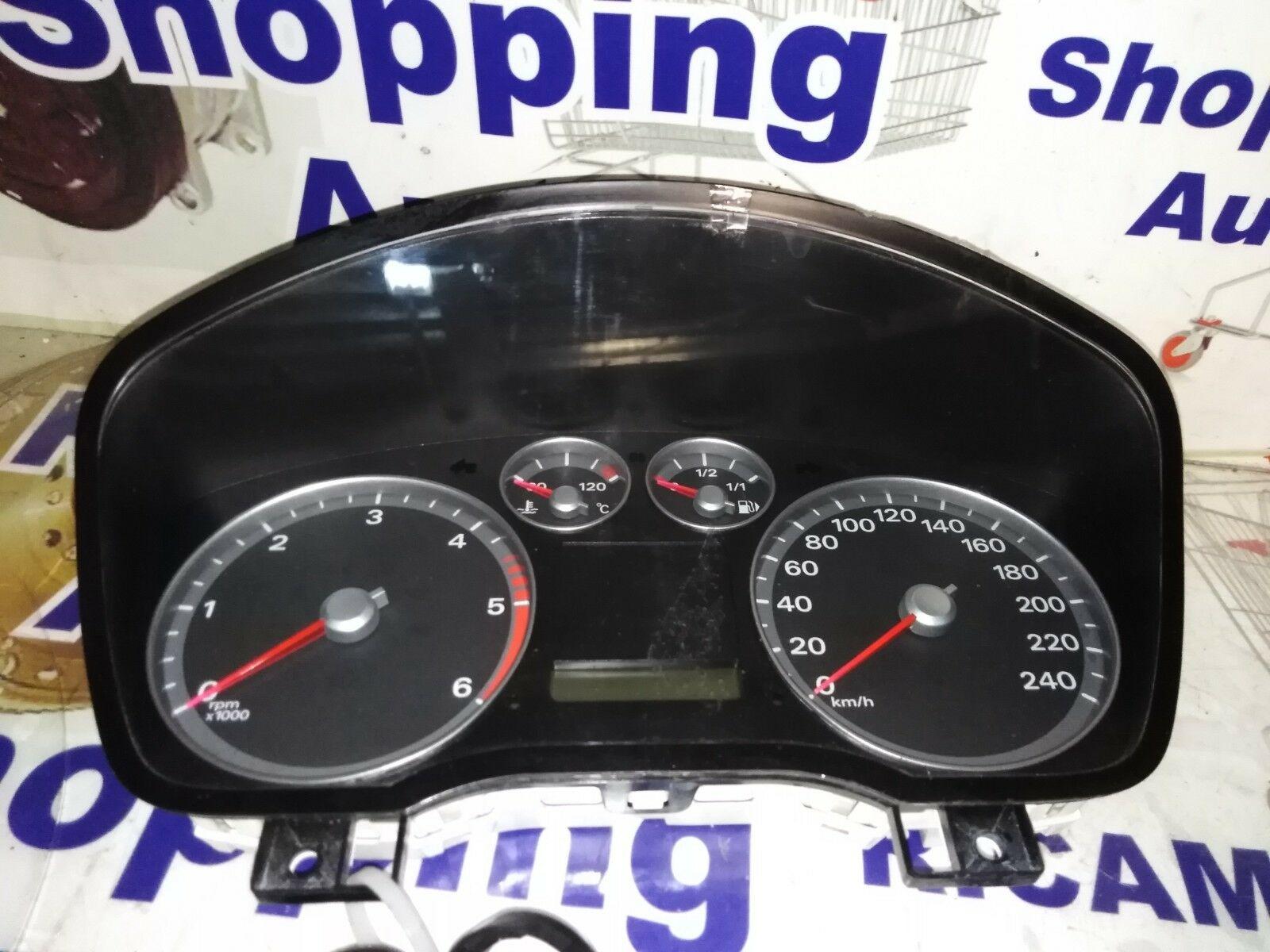 Dettagli Su Veglia Quadro Strumenti Contachilometri Ford Focus 1 6tdci 04 11 4m5t 10849